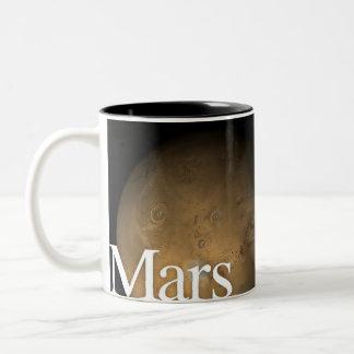 LITDの惑星のマグ: 火星 ツートーンマグカップ
