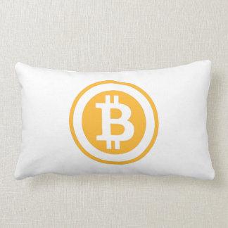 LitecoinおよびBitcoinの枕 ランバークッション