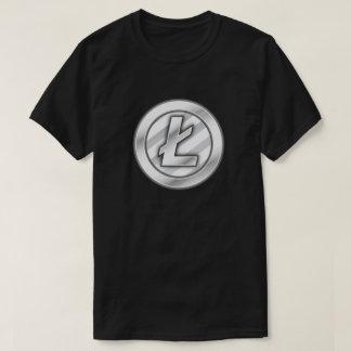 Litecoin (中佐)の暗号の通貨のTシャツ Tシャツ
