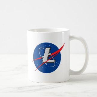 Litecoin: 月に コーヒーマグカップ