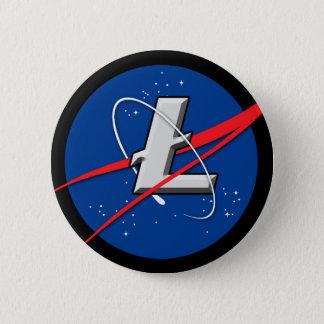 Litecoin: 月に 5.7cm 丸型バッジ