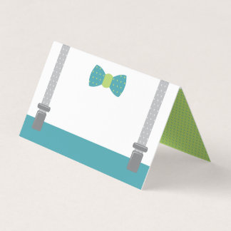 Little Man Place Cards, Food Cards プレイスカード