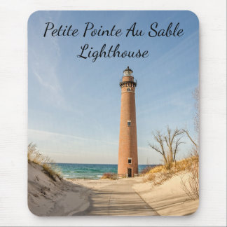Little Sable Point Lighthouse in Mears, Michigan マウスパッド