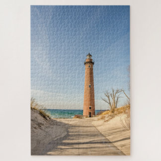 Little Sable Point Lighthouse on Lake Michigan ジグソーパズル