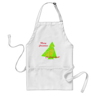 Little tree with a christmas tree artwork on apron スタンダードエプロン