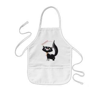 LittlePixyBoots - *Blacky*の子猫猫 子供用エプロン