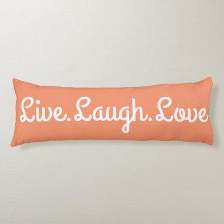 Live.Laugh.Love ボディピロー