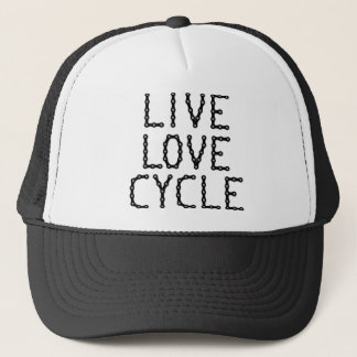 LIVE-LOVE-CYCLE キャップ