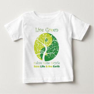 LiveGreen - Yingヤン ベビーTシャツ
