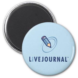 LiveJournalのロゴの垂直 マグネット