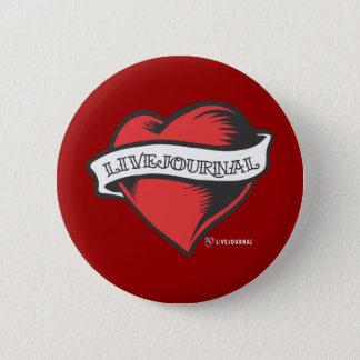 LiveJournalの入れ墨 5.7cm 丸型バッジ