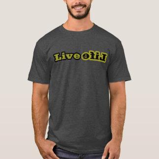 LiveLifeのTシャツの木炭 Tシャツ