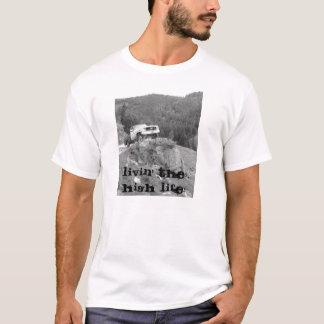 Livinぜいたくな生活 Tシャツ