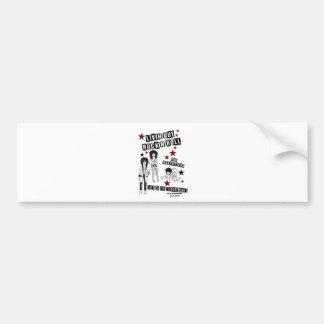 LIVINのロックンロールのプレミアショーの商品 バンパーステッカー