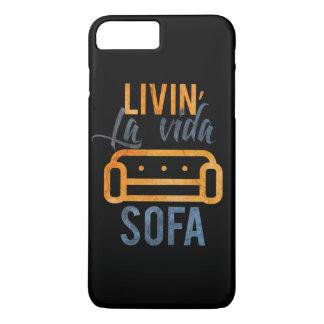 Livinのlaのvidaのソファー iPhone 8 Plus/7 Plusケース