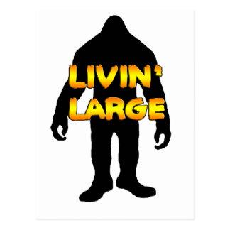 Livin大きいビッグフット ポストカード