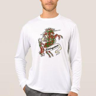 Livingstoneのタータンチェックのユニコーン Tシャツ
