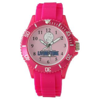 LivingStoneのピンクの腕時計 腕時計