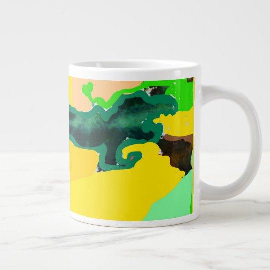 Lizzard ジャンボコーヒーマグカップ