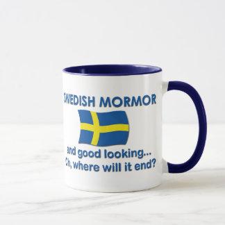 Lkgのよいスウェーデン語Mormor (祖母) マグカップ