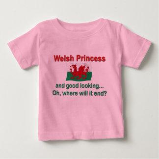 Lkgよいウェールズのプリンセス ベビーTシャツ
