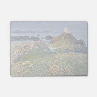 Llanddwynの島のTwr Mawrの灯台 ポストイット