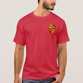 Llywelynワイシャツ素晴らしい紋章付き外衣 Tシャツ