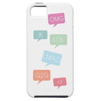 LMAOのメールや文字を打つのiPhone 5の場合 iPhone SE/5/5s ケース
