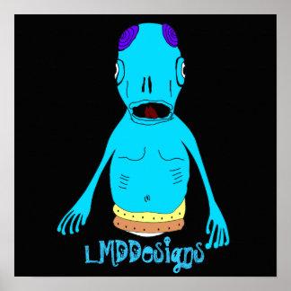LMDDesignsのエイリアン ポスター