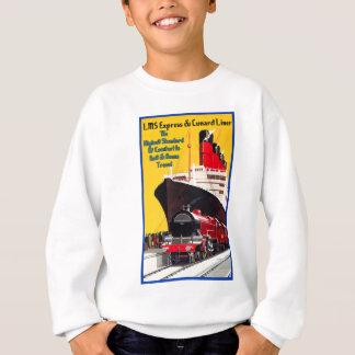 LMSは及びCunardはさみ金表現します スウェットシャツ