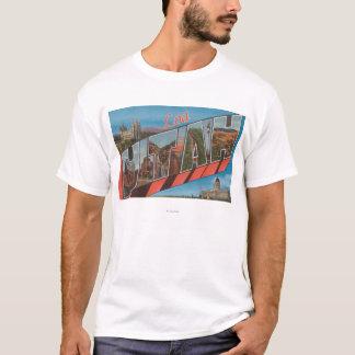 LoaのUtahLargeの手紙ScenesLoa、UT Tシャツ