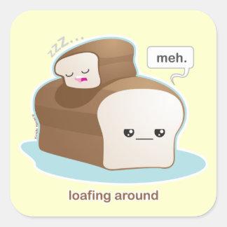 Loafing スクエアシール