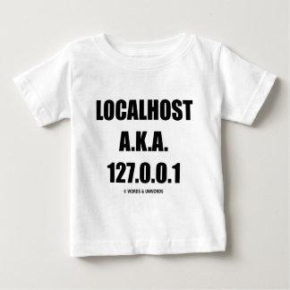Localhost別名127.0.0.1の情報技術 ベビーTシャツ