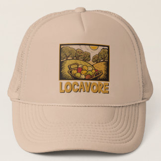 Locavoreの遅い食糧 キャップ