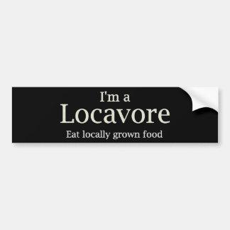 Locavoreの~のバンパー バンパーステッカー