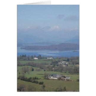 Loch Lomondの魅力的な銀行 カード