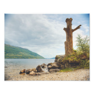 Loch Lomond、スコットランド フォトプリント
