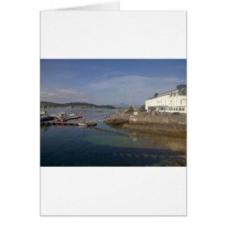 LochalshのKyleからのSkyeの島 カード