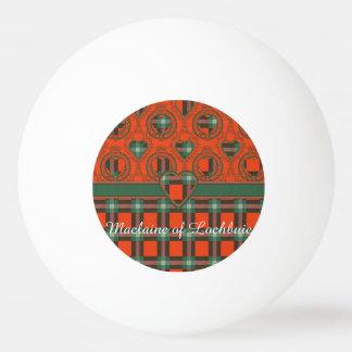 Lochbuieの一族の格子縞のスコットランド人のタータンチェックのMaclaine 卓球ボール