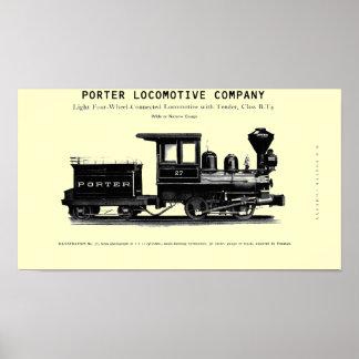 Locomotive Company H K PorterのクラスB-T4 ポスター