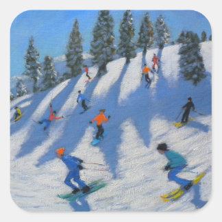 Lofer 2010年スキーヤー スクエアシール
