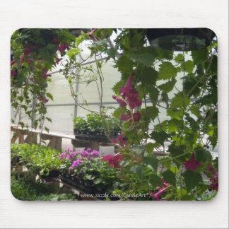 Lofusの花の温室 マウスパッド