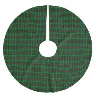 Logieのスコットランド人のタータンチェック ブラッシュドポリエステルツリースカート
