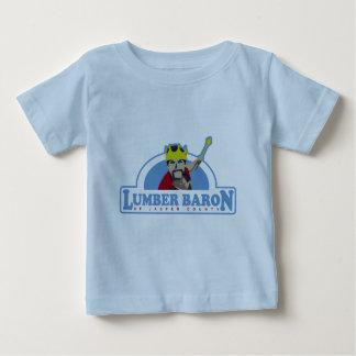 Logo製材男爵 ベビーTシャツ