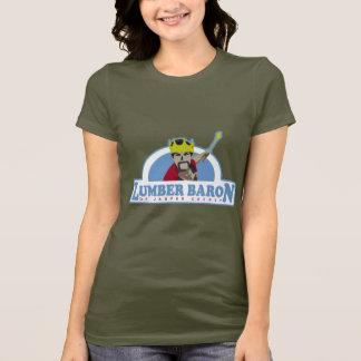 Logo製材男爵 Tシャツ