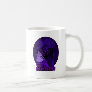 Logo Purple公爵夫人 コーヒーマグカップ