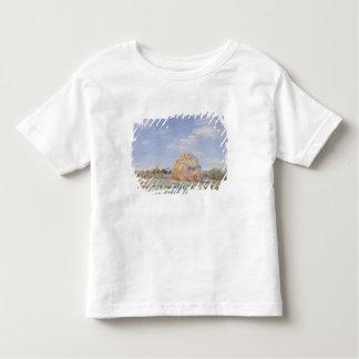 Loingの銀行のアルフレッド・シスレー|の三角波 トドラーTシャツ