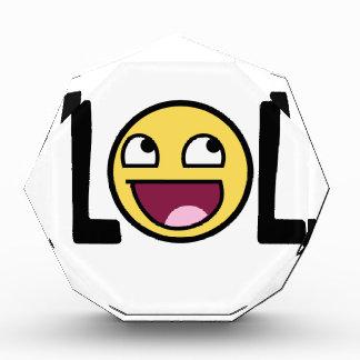 LOLの漫画、funnのデザイン 表彰盾