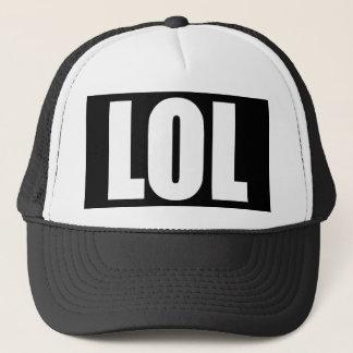 LOLの白黒帽子 キャップ