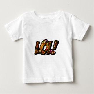 LOLの笑いの騒々しい《写真》ぼけ味 ベビーTシャツ